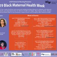 2019 Black Maternal Health Week