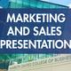 Marketing and Sales Presentation