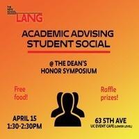Student Success Social @ The Dean's Honor Symposium