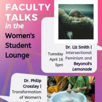 Faculty Talk: Intersectional Feminism and Beyoncés Lemonade