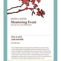 Sister 2 Sister Mentoring Event