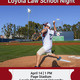 Loyola Law School Night at LMU Baseball