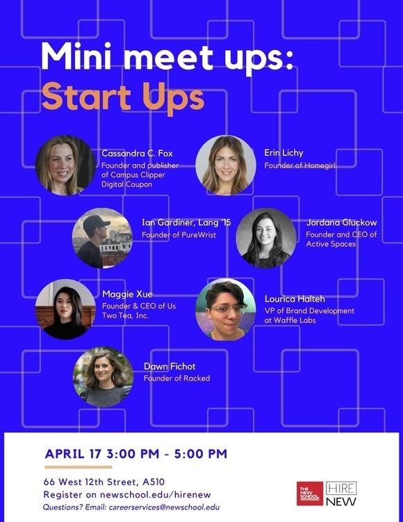Mini Meet Ups: Start Ups