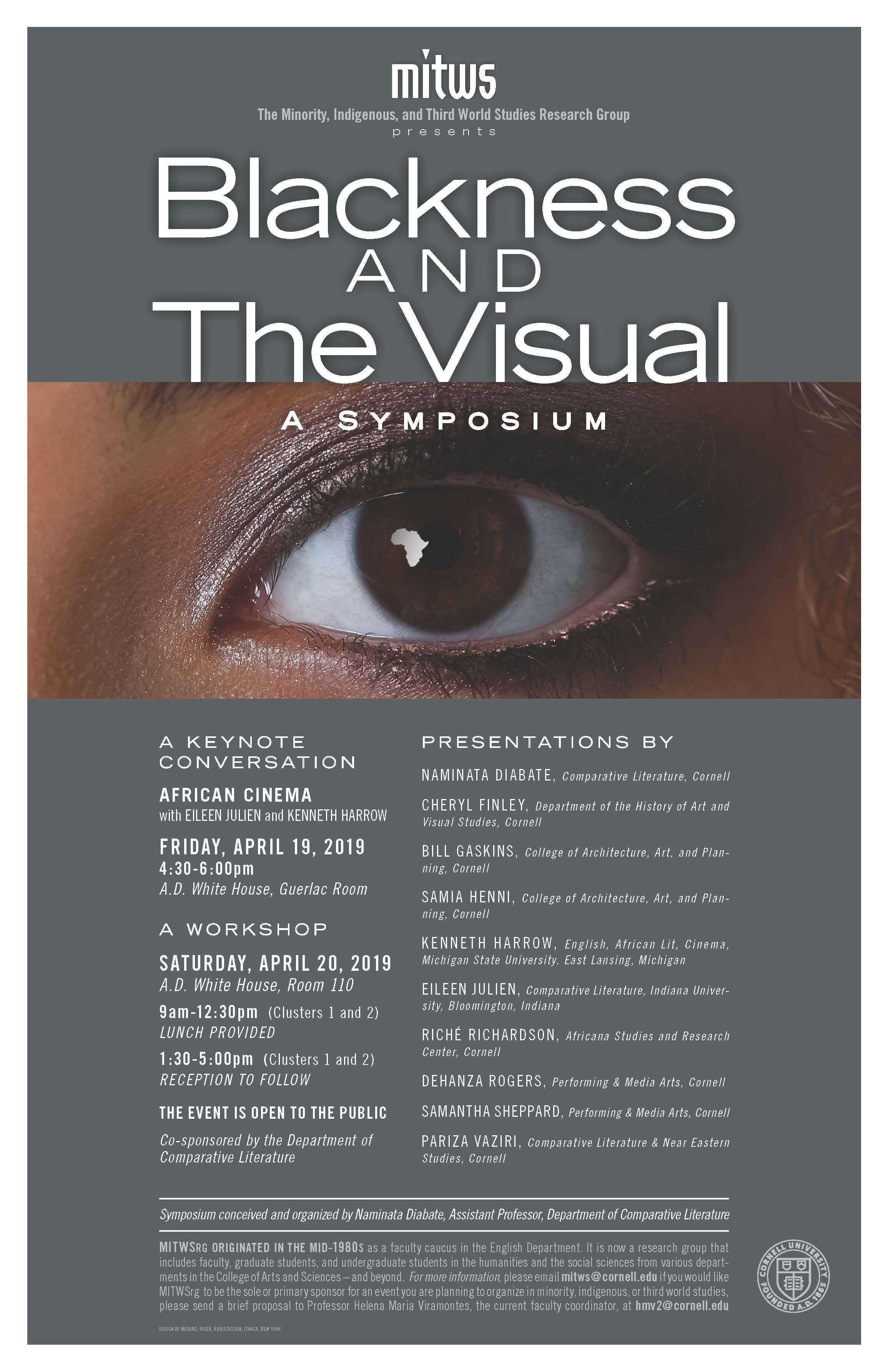 Blackness and the Visual Symposium: Workshop