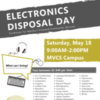 Spring Electronics Disposal Day