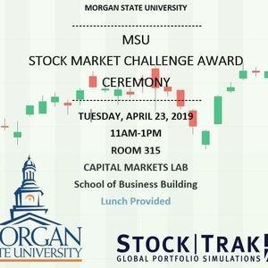 MSU Stock Market Challenge Award Ceremony