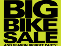 Season Kickoff Party and Bike Sale