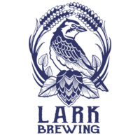The Artsy Dabbler Sign Painting at Lark Brewing