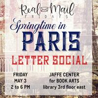 Real Mail Fridays: Springtime in Paris Letter Social