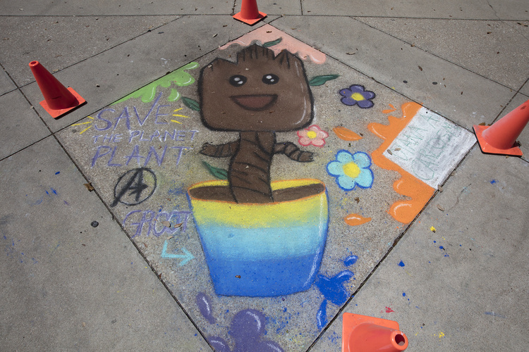 Chalk The Walk at Southeast Campus
