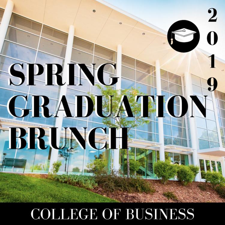 Spring 2019 Graduation Brunch