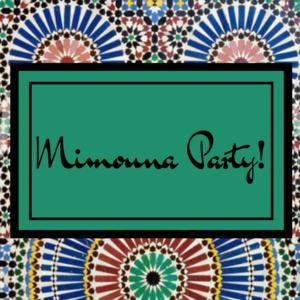 Mimouna Party!
