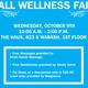 Fall Wellness Fair