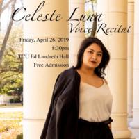Student Recital Series: Celeste Luna, voice.