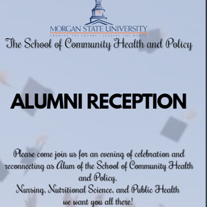 The School of Community Health & Policy Alumni Reception