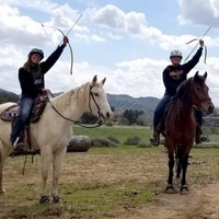 Mounted Archery at Gilchrist Farm