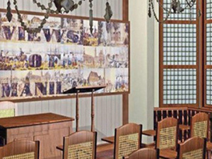 Philippine Nationality Room Dedication