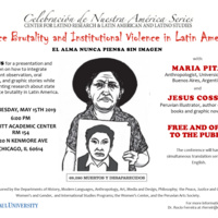 Invitation to Celebracion de Nuestra America Series: Police Brutality and Institutional Violence in Latin America