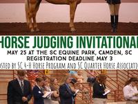 South Carolina Horse Judging Invitational Registration