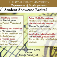 Student Showcase Recital