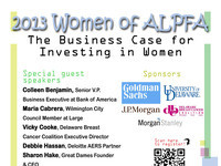 2013 Women of ALPFA: The Business Case for Investing in Women