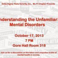 Understanding the Unfamiliar: Mental Disorders