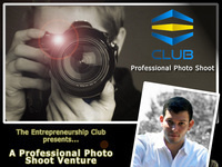 The Entrepreneurship Club's Photo Shoot Venture