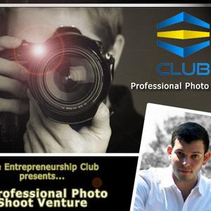 The Entrepreneurship Club's Photo Shoot Venture