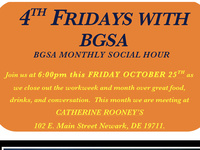 4th Fridays with BGSA