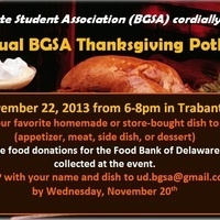 3rd Annual BGSA Thanksgiving Potluck