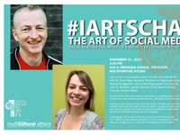 #iartschat | The Art of Social Media  Curating an International, Interactive & Innovative Arts Experience with Social Media