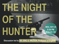 STARThouse Film Series: The Night of the Hunter