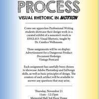 Process: Visual Rhetoric in Motion