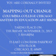"""""""Mapping Out Change: Columbia College Chicago Masters in Education Art Show"""""""