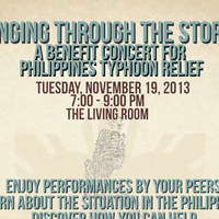 Singing through the Storm: A benefit concert for Philippines typhoon relief